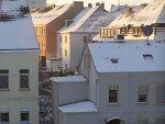 domy wielorodzinne   zima