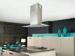 Kuchnia, okap Glass Linear